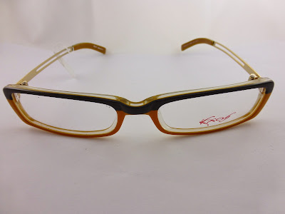 Eyeglasses Frame Made In Germany : Kxos Eyeglasses frame. Black & Orange Great Looking Rare ...