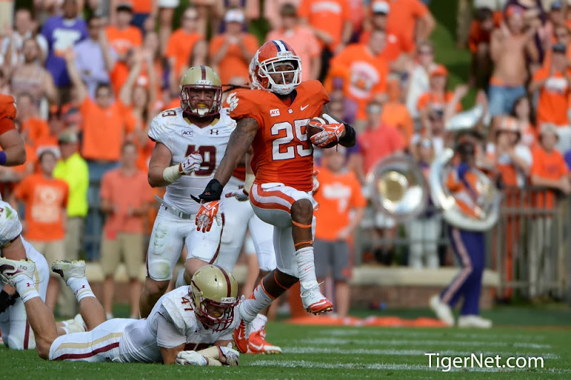 Boston College vs Clemson Photos - 2013, Boston College, Football, Roderick McDowell