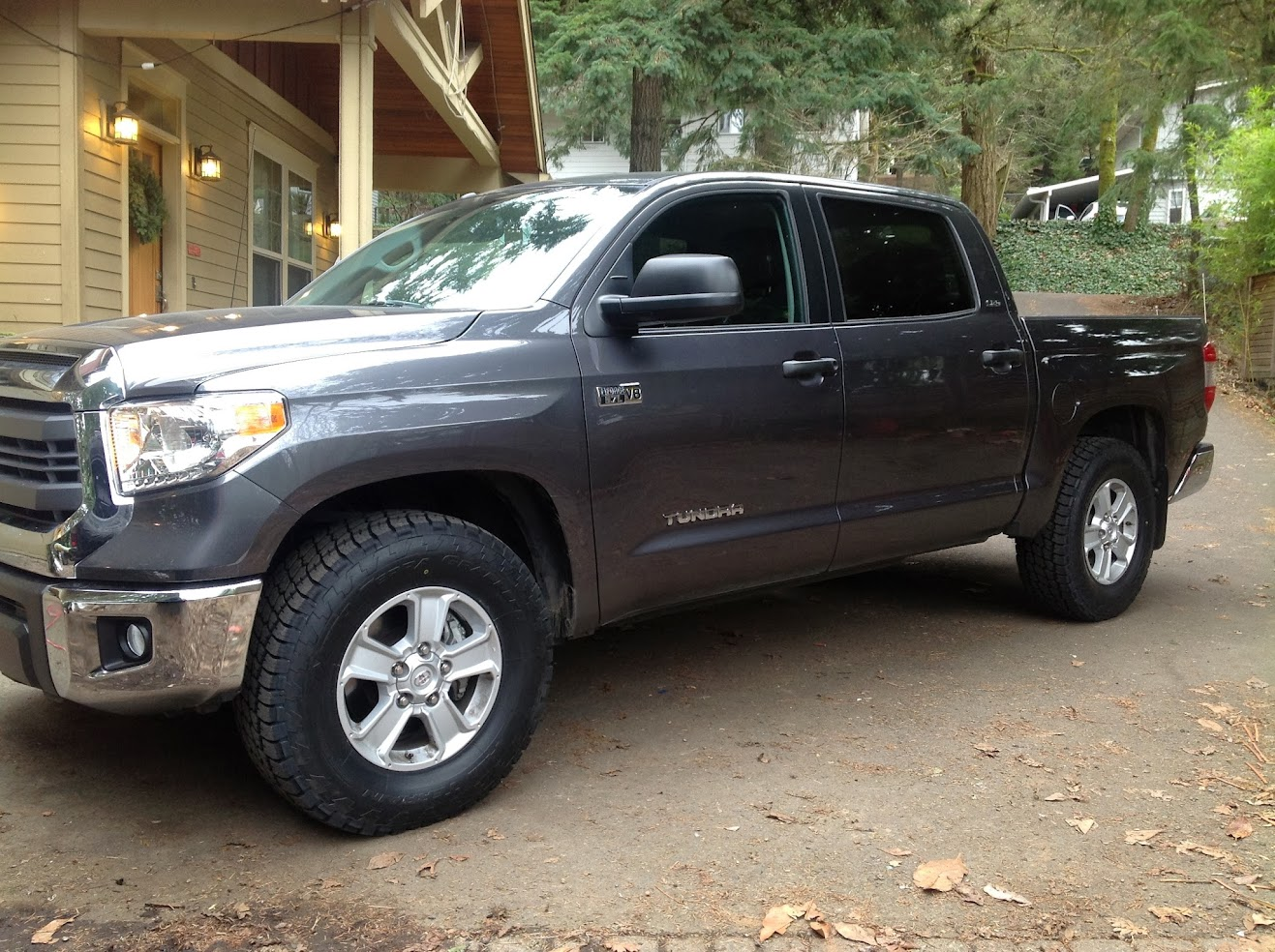 Biggest tire on stock 2014 trd wheels tundratalk net toyota tundra discussion forum
