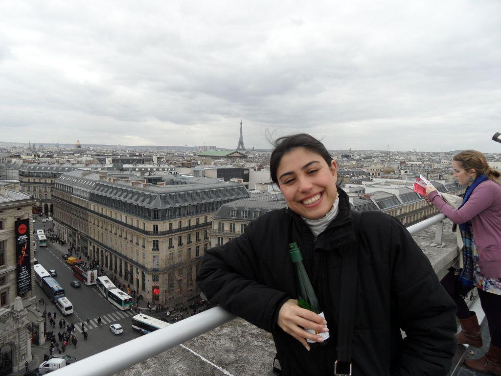 Galeries Lafayette çatısında