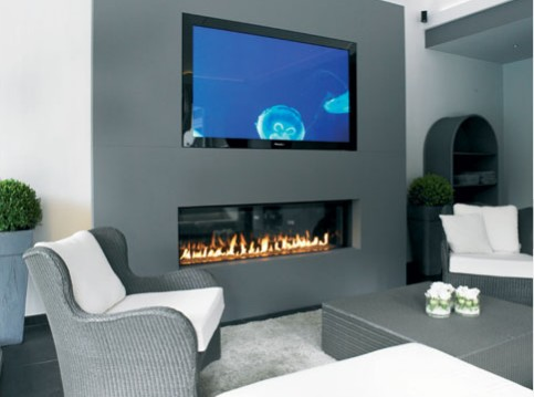 cheminee ethanol sous tv. Black Bedroom Furniture Sets. Home Design Ideas