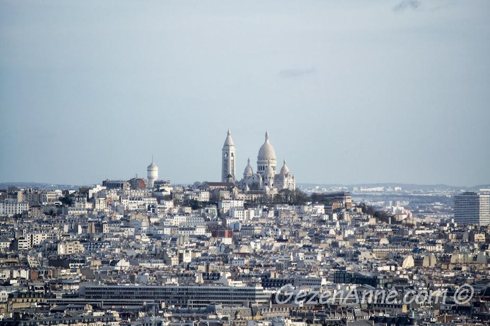 Sacre Coeur manzarası