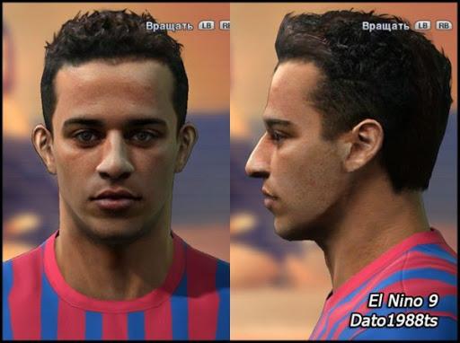 Preview%252520%2525283%252529 PES 2011: Face de Thiago Alcantara – Barcelona