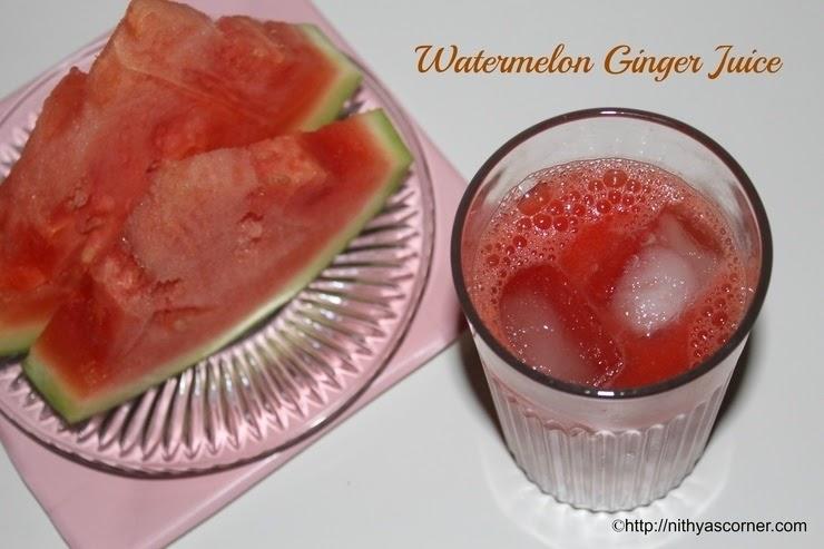 Watermelon Juice Recipe