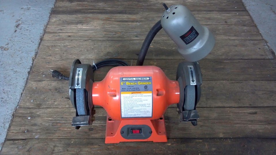 Superb Cm 6 Bench Grinder With Lamp 25 Obo Rising Sun 4Wd Ocoug Best Dining Table And Chair Ideas Images Ocougorg