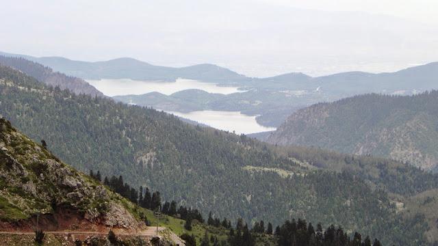 Η Λίμνη Πλαστήρα από τον αυχένα της Νιάλας