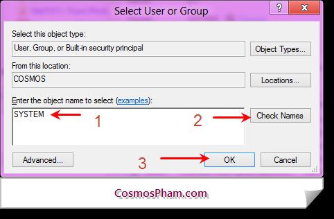phân quyền cho thư mục và ổ đĩa trên Windows