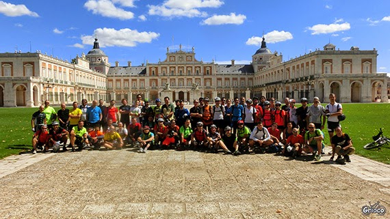 Ruta MTB de Madrid a Aranjuez. Sábado 4 de abril 2015 ¿Te apuntas?