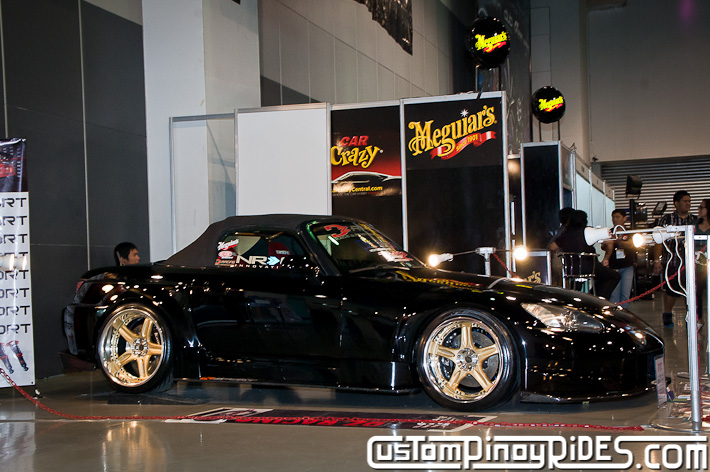 Craig Samson Honda S2000 Powerhouse Amuse DZ Racing Bace Garage Manila Auto Salon Custom Pinoy Rides pic2