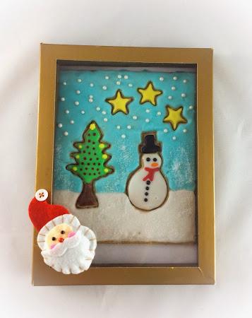 Ciasteczka imbir, kardamon,lukier,cynamon,Boże Narodzenie, święta, prezent,deser,