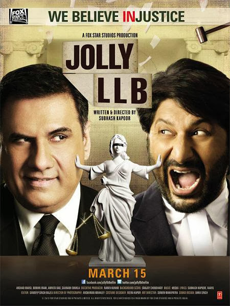 Cover of Jolly L.L.B. (2013) Hindi Movie Mp3 Songs Free Download Listen Online at Alldownloads4u.Com