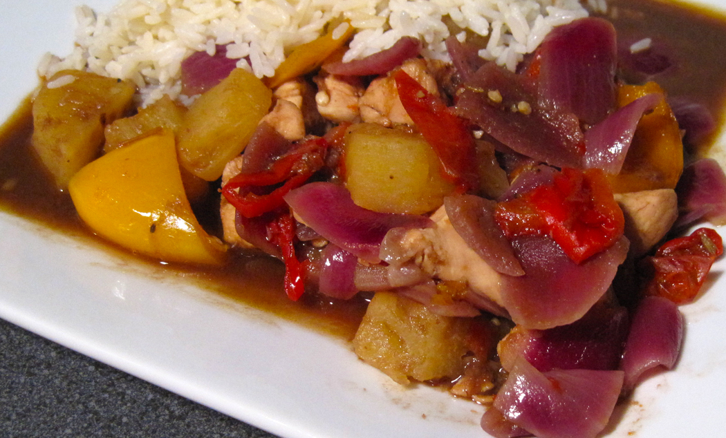 Bag Roasted Sweet and Sour Chicken