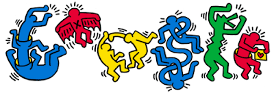 Doodle Keith Haring
