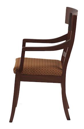 Brewster Dining Chair in Winter Walnut