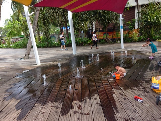 Siloso Beach Sentosa Singapore, Water Play Area