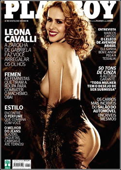 KPOSAKOSKOAOKS Download   Leona Cavalli : Revista Playboy   Outubro 2012