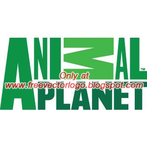Animal planet logo vector