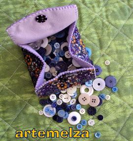artemelza - bolsa de feltro
