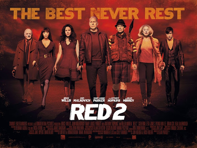 Red 2 Movie Wallpaper