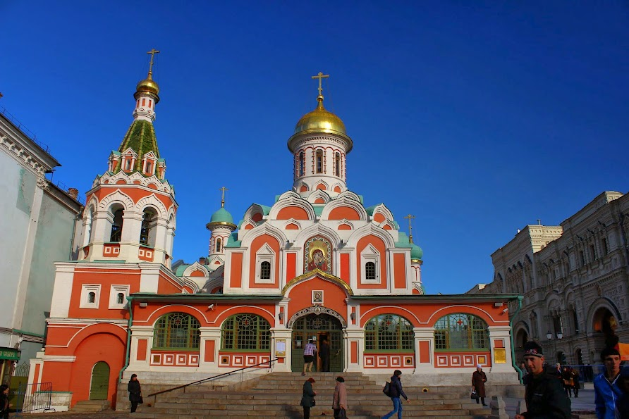 Kazan Cathedral Red Square Moscow