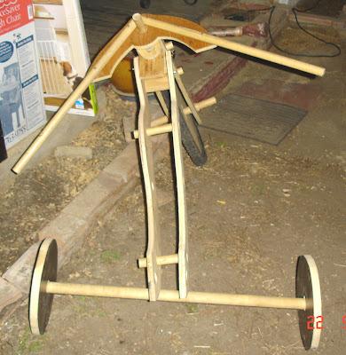 Home Built Tadpole Trike