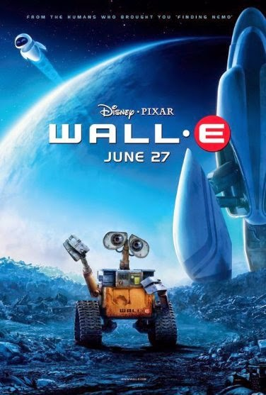 Poster Of WALL·E (2008) Full Movie Hindi Dubbed Free Download Watch Online At Alldownloads4u.Com