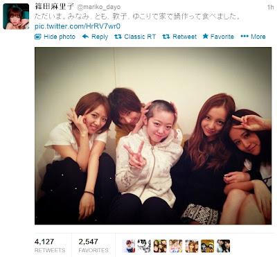AKB48 篠田麻里子「ミーコニックも大好き」丸刈り謝罪の峯岸みなみについて意味深なコメント