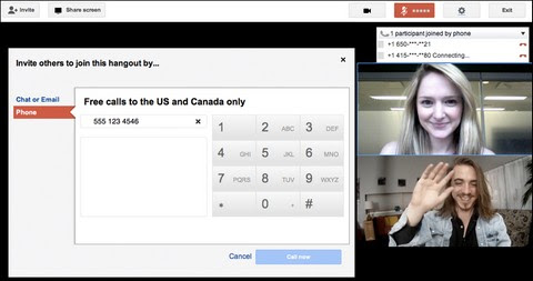 Google+ Hangouts now connecting phone calls in US & Canada