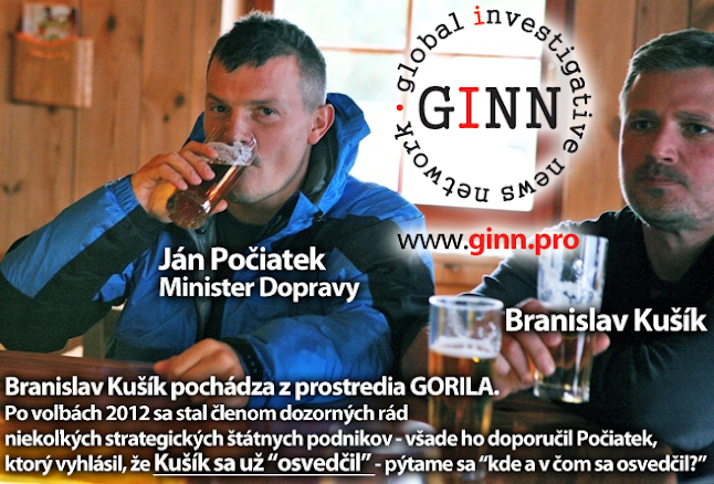 Ján Počiatek a Branislav Kušík
