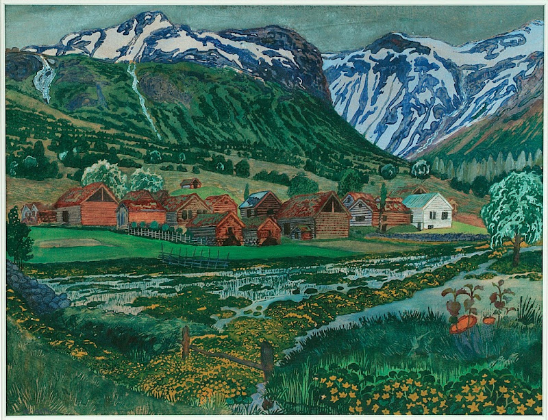 Nikolai Astrup - Buttercup Night