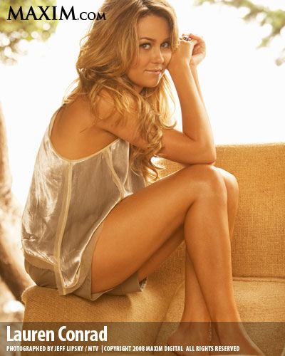Near-Nude Lauren Conrad Hot Pics,