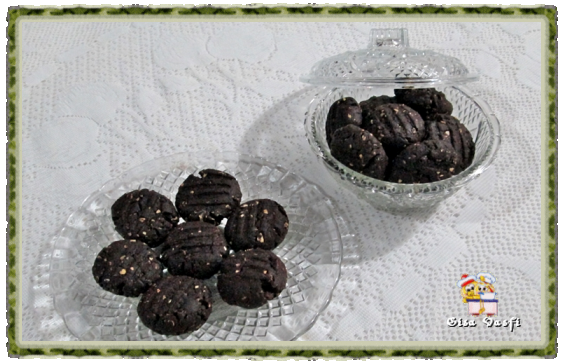 Biscoito de chocolate e aveia da Martinha 1