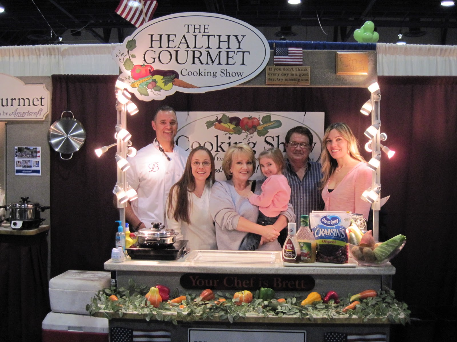 Cook 39 N Healthy With Brett Lena Home And Garden Show Las Vegas Nv