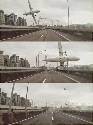 TransAsia GE 235 Crash