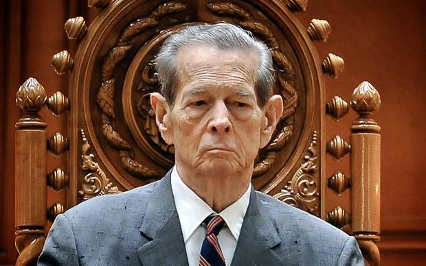 Regele Mihai I al României în Parlament / King Michael I of Romania in Parliament
