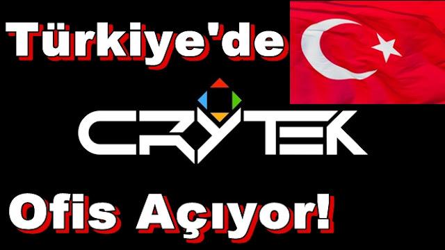 Crytek,Türkiye'de Ofis Açıyor!