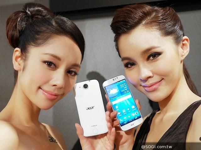 Liquid Jade S, smartphone 64-bit đầu tiên của Acer