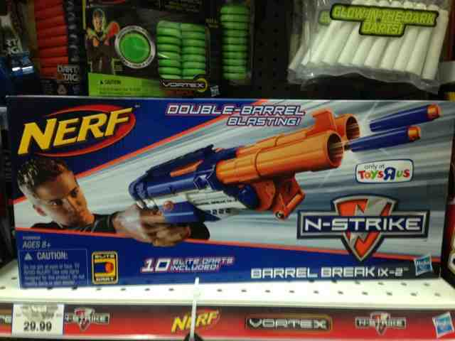 Nerf Elite Barrel Break. Found this at Toys R Us . ...