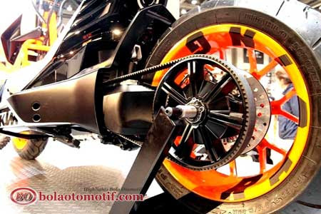 Skutik KTM E-Speed