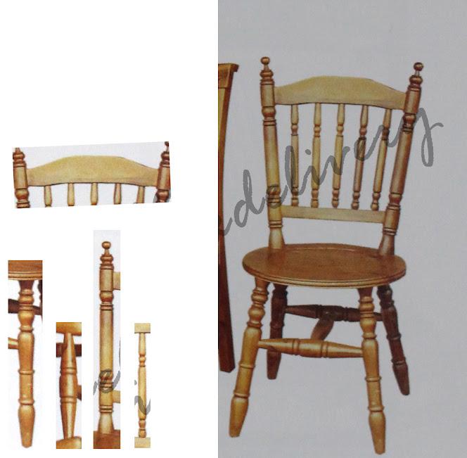 การขึ้นโมเดลเก้าอี้ไม้กลึง [คุณขอมา...เราจัดให้] Template