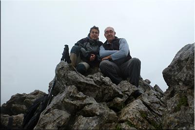 Garaio mendiaren gailurra 574 m.  --  2014ko maiatzaren 11an