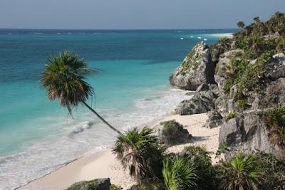 Za konec pa Tulum s svojimi peščenimi plažami