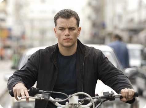 Matt Damon-Bourne