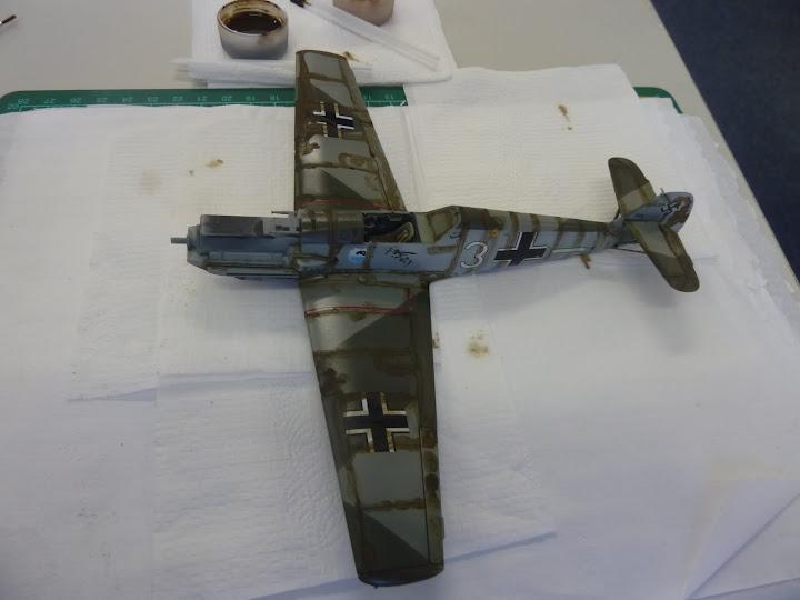 Bf-109 E-3 Tamiya 1/48 - Reforma pintura P1020514