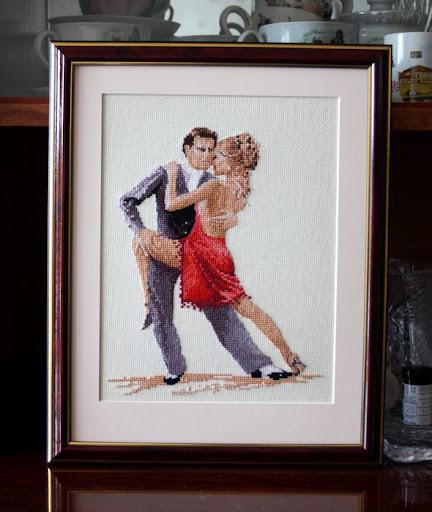 свадебное танго (вышивка)