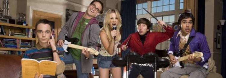 "Sheldon, Leonard, Penny, Howard y Rash, de ""The Big Bang Theory"", los nuevos chicos de oro"