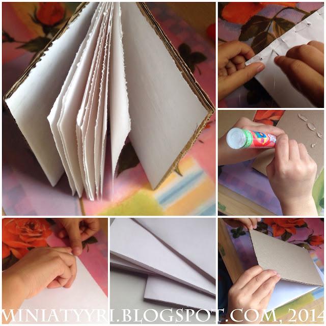 Lapsi tekee oman kirjan - Child makes her own book