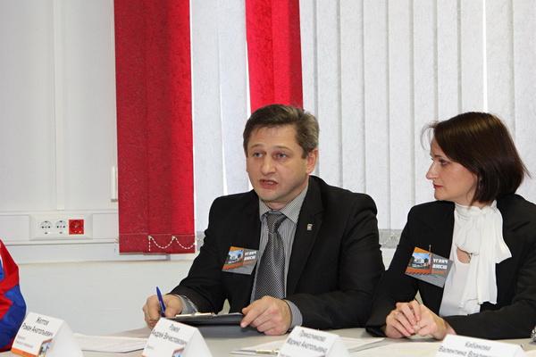 Директор ДЮСШ Андрей Ражев. фото Павел Карпов