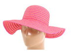 Palarii Echo Design 2 Color Cross-Cross Floppy Hat Magenta/Orange