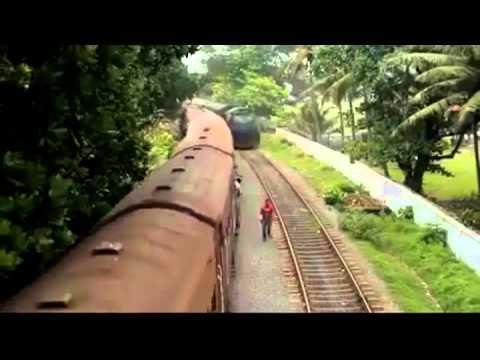 مجنون يمشي بين قطارين